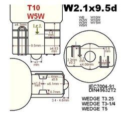 T10-w5w-LED lampen