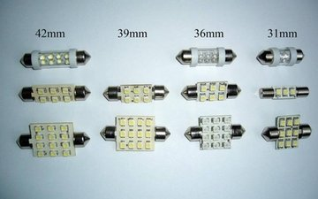 Buis LED lampen