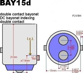 BAY15d Dubbele pin
