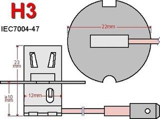 H3-LED lampen