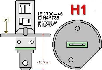 H1-LED lampen