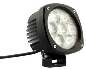 Rallylampen vierkant