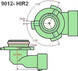 9012 / HIR2 - Led lampen