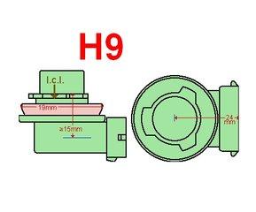 H9- led lampen