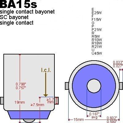 BA15s-Enkele-pin
