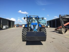 Ledbar 50inch 500w  op New holland tractor