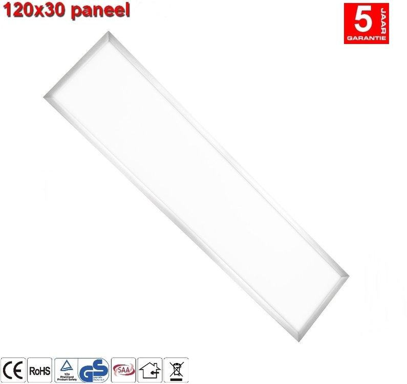 LED paneel 30x120 - 40w 4800lumen Warm-Wit
