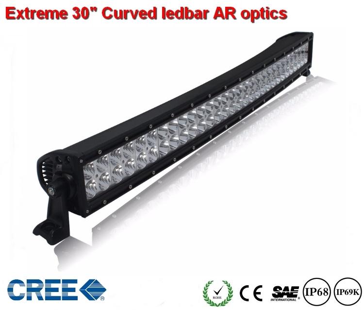 Extreme 30 inch Curved Ledbar 300w AR Optics  28.000 lumen