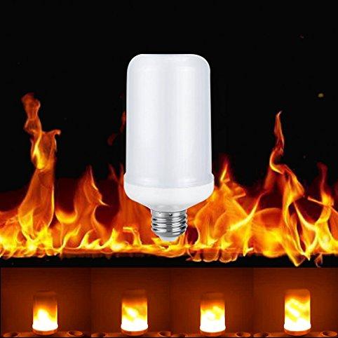 E27 Ledlamp vuurlamp 99leds