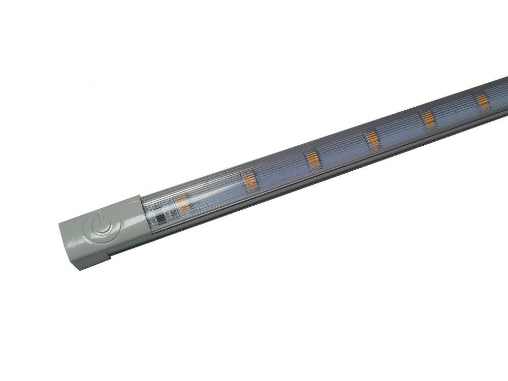 LEDbar 60cm met touch dimmer warmwit