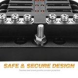 Luxe zekeringhouder 6 met led indicator_