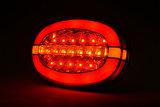 LED Neon Ovaal Achterlicht dynamisch 12v/24v E-keur_