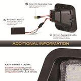 2x LED kentekenplaat-units Voor Dodge Ram 1500 2500 3500 2003-2015_