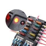 Luxe zekeringhouder 12 met led indicator_