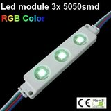 Led Module RGB 3x5050smd Ip65_