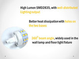 R7s LED lamp -78mm-5w-360gr dimbaar Warmwit_