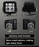Extreme 40w Led Breedstraler AR Optics - 3.200 lumen_
