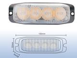 12-24v Led flitser 12W Oranje R65-ECE R10_