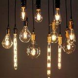 E27 Vintage Led lamp 3,5w Gold-warmwit Dimbaar_
