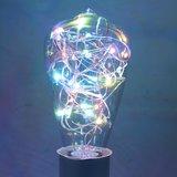 E27 - RGB-ST64 Led lamp 2w multicolor_