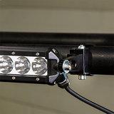 Bevestigingsbeugel 2.5 inch ledbar op ronde buis bullbar /roofrack_