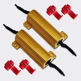 2 Resistors 50W 30 Ohm voor 24 volt_