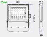 200w Bouwlamp HO serie 26.000 lumen Cool-wit_
