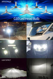 HB3/9005 Led G10 koplampen set 8.000 lumen copperflex_