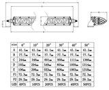 Extreme 40 inch ledbar 200w - Ar Optics - 18.000 lumen_