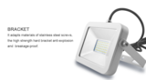 Dimbare led bouwlamp 10w ipad-design Warm-wit_