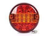 LED Achterlicht hamburger model 12v/24v E9 SAE keur_