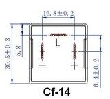LED Relais CF-14 voor led knipper lichten_