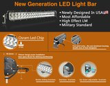Extreme Slimline dual-row ledbar 41inch 400w 37.900 lumen_