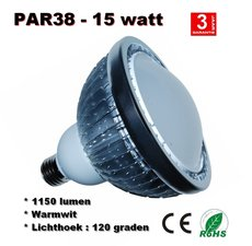 Par38 ledspot 15watt Warmwit (E27) 1150lumen