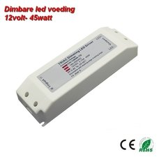 Dimbare LED driver 12volt -45w