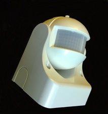 LED Bewegings-schemer schakelaar wit