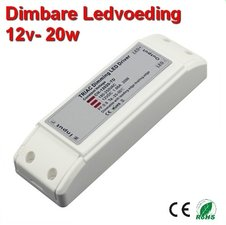 Dimbare LED driver 12volt -20w