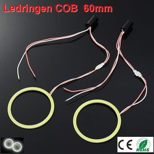 2 Ledringen COB 60mm Cool-wit
