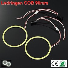 2 Ledringen COB 90mm Cool-wit