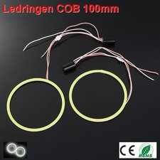 2 Ledringen COB 100mm Cool-wit