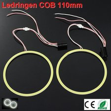 2 Ledringen COB 110mm Cool-wit