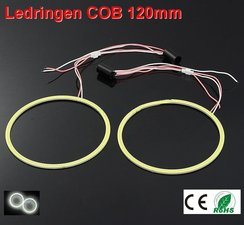 2 Ledringen COB 120mm Cool-wit