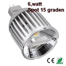 MR16 ledspot 30graden 6,5w Warm-wit