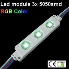 Led Module RGB 3x5050smd Ip65