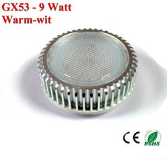 GX53 ledlamp 9watt Warm-wit - 720lumen