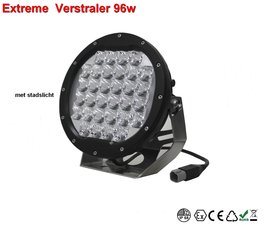 Extreme Led verstraler 96w Combi AR Optics - 8.800 lumen