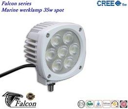 Falcon marine 4,3inch ledlamp 35w- Spot