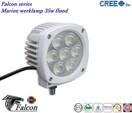Falcon marine 4,3inch ledlamp 35w- Breedstraler