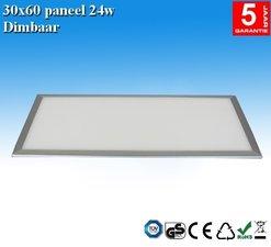 LED paneel 30x60 Natuurlijk-wit 24w Dimbaar