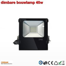 40w Dimbare AC-Breedtestraler warm-wit